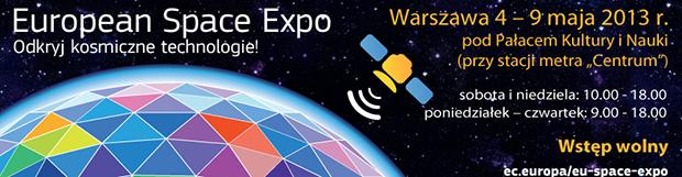 European Space Expo – Warszawa – 4-9 Maja 2013